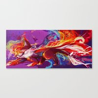Tailspin Canvas Print