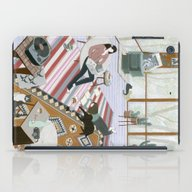 iPad Case featuring Sisters Room by Yuliya