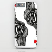 iPhone & iPod Case featuring Hairy Heart by Emily Shaw
