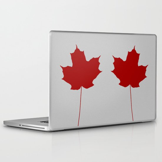 Leaf de jour Laptop & iPad Skin