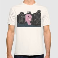 In Bruges I Mens Fitted Tee Natural SMALL