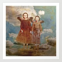 Did You Think We Would Stay? Art Print