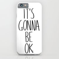 iPhone & iPod Case featuring IT'S GONNA BE OK by Villaraco