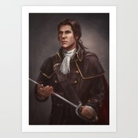 Assassin's Creed 3 - Young Haytham Art Print