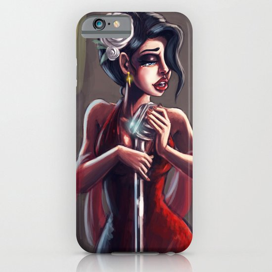 Lady Sing the Blues iPhone & iPod Case
