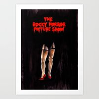 The Rocky Horror Picture… Art Print