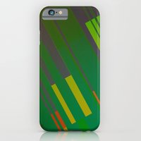 iPhone & iPod Case featuring Canopus Green Orange by Greg Stedman Illustration