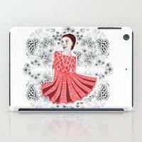 Red Dress iPad Case