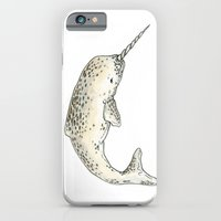 iPhone & iPod Case featuring Narwhal by TheColorK