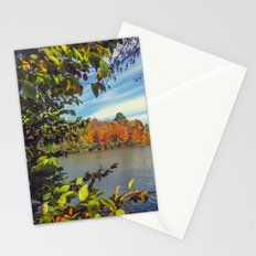 Autumn Peek-a-Boo Stationery Cards