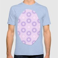 Fractal Cogs N Wheels In… Mens Fitted Tee Tri-Blue SMALL