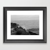 Long Beach, NY  Framed Art Print