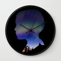 Dreaming Boy Wall Clock