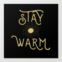 Stay Warm Canvas Print