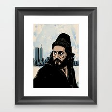 Serpico Framed Art Print