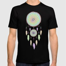 DREAM CATCHER V.2 Mens Fitted Tee Black SMALL