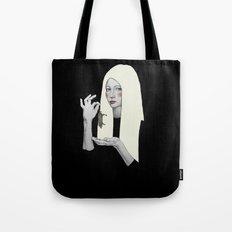 Vana in black Tote Bag