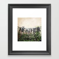 Locals Only - Vancouver,… Framed Art Print
