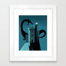 Cyber Security Framed Art Print