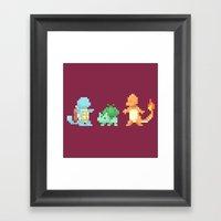 Pokemon Framed Art Print