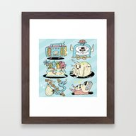 The Gangs All Here Framed Art Print