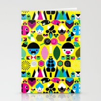 Geomonsters Stationery Cards