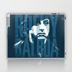 Rocky Balboa Minimal Vector Film Poster Laptop & iPad Skin