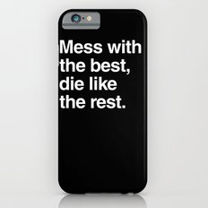 Hackers iPhone 6 Slim Case