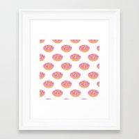Doughnut Heaven  Framed Art Print