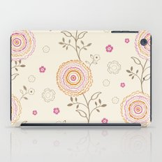 Folky Flowers iPad Case