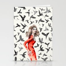 Barcelona Summer Bird La… Stationery Cards