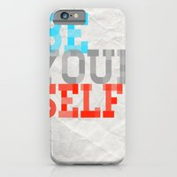 Be Yourself iPhone 6 Slim Case