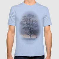 Winter Sunrise, Wramplin… Mens Fitted Tee Athletic Blue SMALL