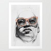 Santi Art Print