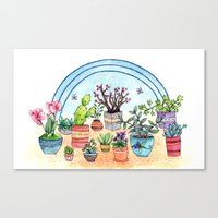 Household Plants Canvas Print
