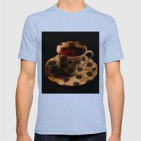 CHEE-TEA   Mens Fitted Tee Tri-Blue SMALL
