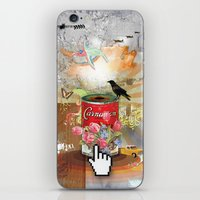Rainbow Bird iPhone & iPod Skin