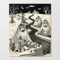 Weary Vagabond  Canvas Print