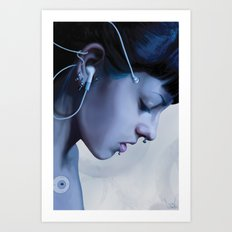 Listen Yourself Art Print