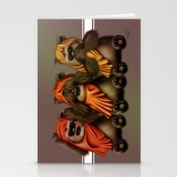 STAR WARS The Three Wise Ewoks Stationery Cards