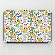Cute Pokémon Doodle  iPad Case