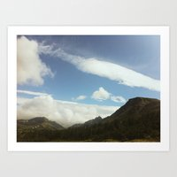 Flat Top Mountain, Ancho… Art Print