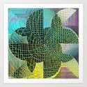 Intersected Art Print