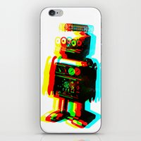 RETROBOT iPhone & iPod Skin