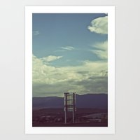 Nothing To Say Art Print