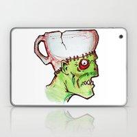 coffee zombie notext Laptop & iPad Skin