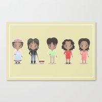 Oprah + Sofia Canvas Print