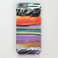 iPhone & iPod Case featuring Tropicana Electric by L I S S I N K  C R E A T I V E