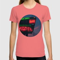 No Tell Womens Fitted Tee Pomegranate SMALL