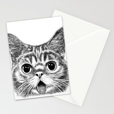 Tongue Out Cat Stationery Cards
